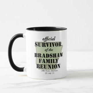 Official Survivor of Family Reunion (green) Mug