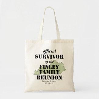 Official Survivor of Family Reunion - Kentucky Tote Bag