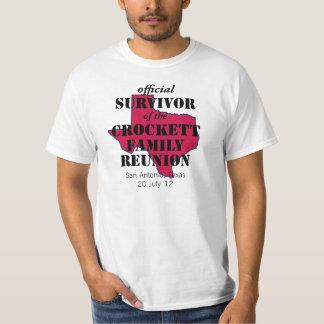 Official Survivor of Texas Family Reunion (red) T-Shirt