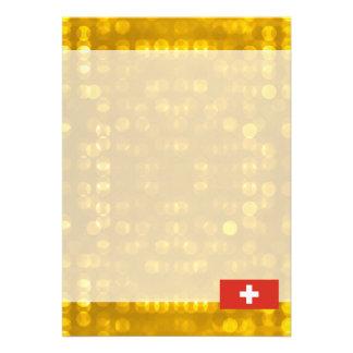 Official Swiss Flag Card