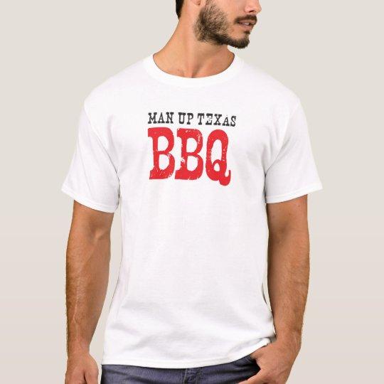 Official t-shirt of Man Up Texas BBQ
