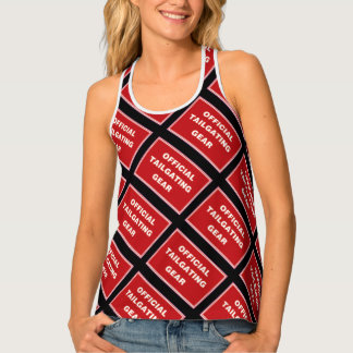 Official Tailgate Gear All Over Tank Tank Top