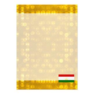 """Official Tajik Flag 5"""" X 7"""" Invitation Card"""