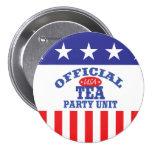 Official Tea Party Unit Buttons