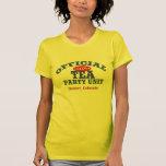 Official Tea Party Unit T Shirt