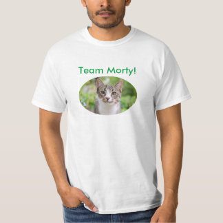 """Official """"Team Morty!"""" T-shirts and apparel"""