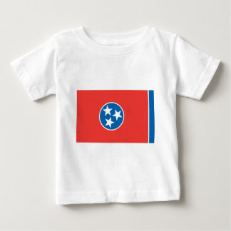Official Tennessee State Flag Baby T-Shirt