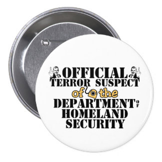 Official Terror Suspect Buttons