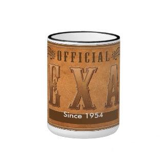 Official TEXAN since 1954 Ringer Coffee Mug