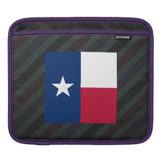 Official Texas Flag on stripes Sleeve For iPads