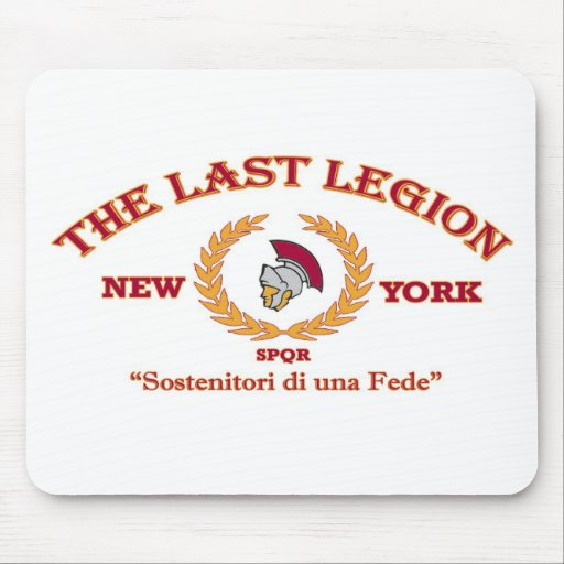 Official The Last Legion New York Merchandise Mousepad