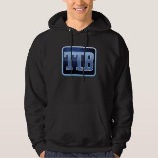 Official The Tech Buzz Flat Badge Logo Hoodie