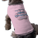 Official Therapy Dog Dog Tee Shirt
