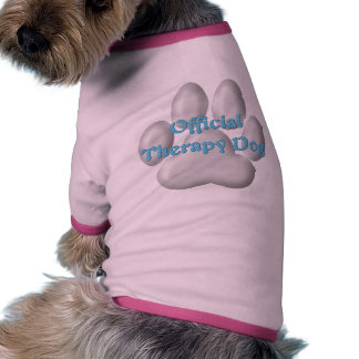 Official Therapy Dog v3 Dog Tshirt