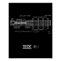 Official THX 35th Anniversary Deep Note Poster