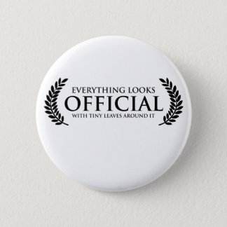 Official Tiny Leaves Button
