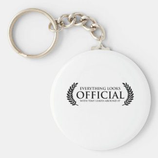 Official Tiny Leaves Keychain