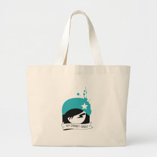 """Official """"TLV Derby Girls"""" Logo Canvas Bags"""