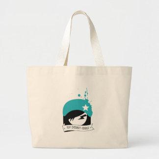 "Official ""TLV Derby Girls"" Logo Jumbo Tote Bag"