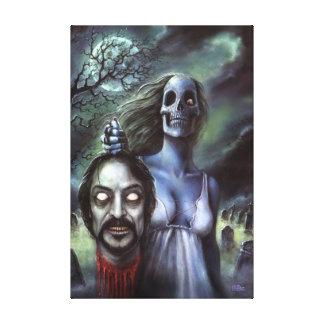 Official Tom Savini Zombie Canvas Print