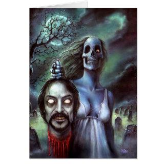 Official Tom Savini Zombie Card