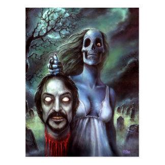 Official Tom Savini Zombie Postcard
