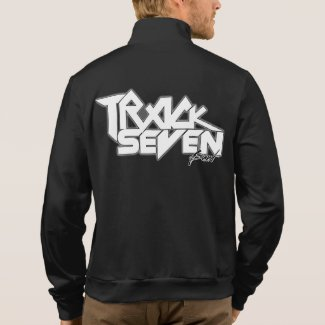Official Track Seven Band Zip Up Fleece Jogger Jacket