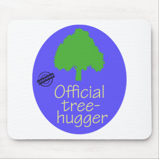 Official Tree-Hugger Mouse Pad