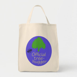 Official Tree-Hugger Reusable Grocery Bag
