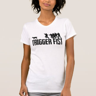 Official Trigger Fist Goat Run Shirt for Women