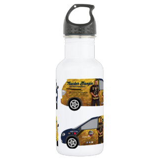 Official Trucker Bangin Ent. Gear for Daily Use 18oz Water Bottle