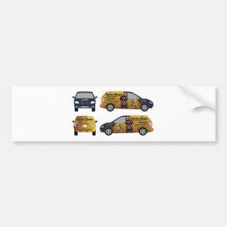 Official Trucker Bangin Ent. Gear for Daily Use Car Bumper Sticker