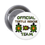 Official Turtle Rescue Team 1 2 Inch Round Button