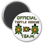 Official Turtle Rescue Team 1 2 Inch Round Magnet