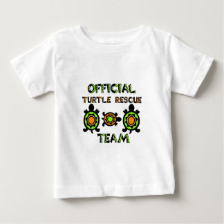 Official Turtle Rescue Team 1 Baby T-Shirt
