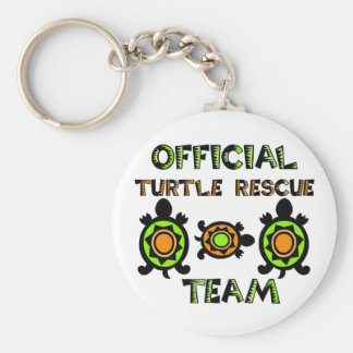 Official Turtle Rescue Team 1 Key Chains
