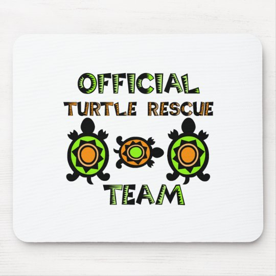 Official Turtle Rescue Team 1 Mouse Pad
