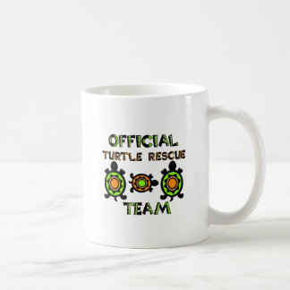 Official Turtle Rescue Team 1 Classic White Coffee Mug