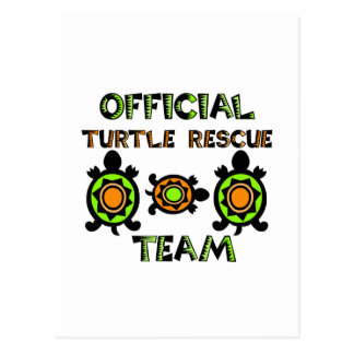 Official Turtle Rescue Team 1 Postcard