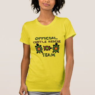 Official Turtle Rescue Team 1 Tee Shirt