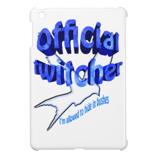 official twitcher  i'm allowed to hide in bushes iPad mini cover