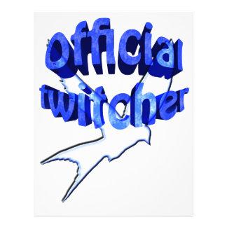 official twitcher letterhead