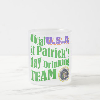 Official U.S.A St Patrick's drinking team Mugs