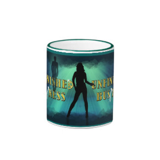 Official Unfinished Business Movie Merch Ringer Coffee Mug