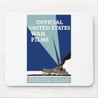 Official United States War Films -- WWI Mouse Pad