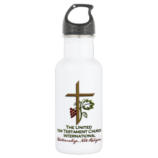 Official UNTCI Member Gear 18oz Water Bottle