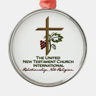 Official UNTCI Member Gear Metal Ornament