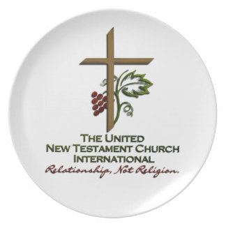 Official UNTCI Member Gear Party Plate