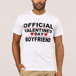 OFFICIAL VALENTINE'S DAY BOYLFRIEND T-Shirt