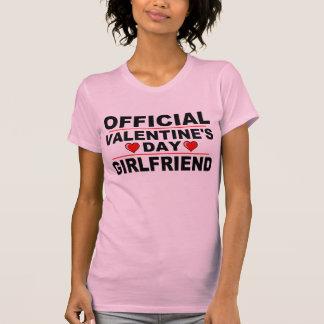 OFFICIAL VALENTINE'S DAY GIRLFRIEND T-Shirt